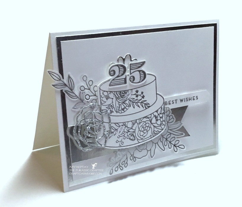 Silver Anniversary Card Dec 2017