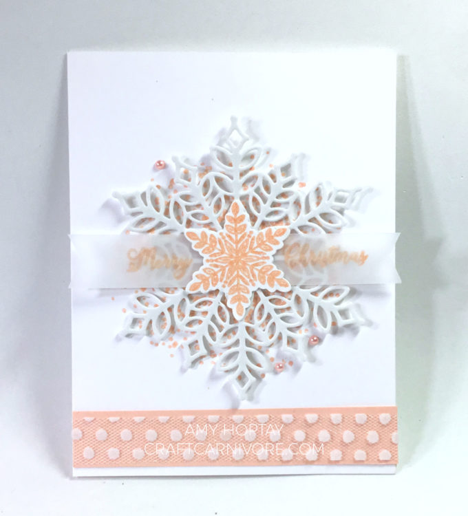 Snow is Glistening Snowflake Showcase Stampin' Up!