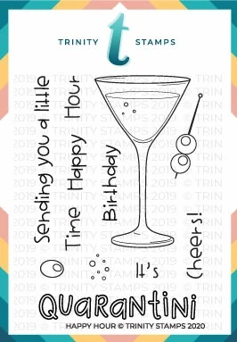 Trinity Stamps Happy Hour stamp set (now sold out)